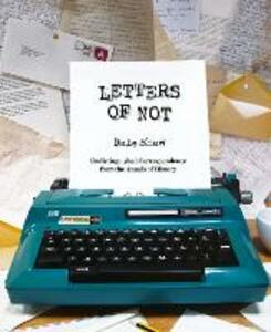 Letters of Not - Dale Shaw - cover