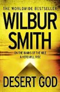 Desert God - Wilbur Smith - cover