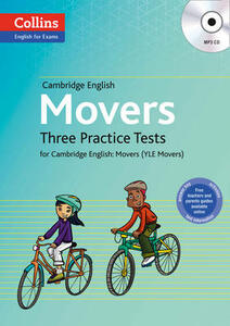 Practice Tests for Movers: Yle - Anna Osborn - cover