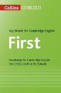 Key Words for Cambridge English First: Fce - cover