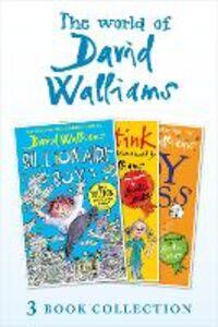 Foto Cover di The World of David Walliams 3 Book Collection (The Boy in the Dress, Mr Stink, Billionaire Boy), Ebook inglese di David Walliams, edito da HarperCollins Publishers