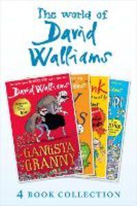 Foto Cover di The World of David Walliams 4 Book Collection (The Boy in the Dress, Mr Stink, Billionaire Boy, Gangsta Granny), Ebook inglese di David Walliams, edito da HarperCollins Publishers