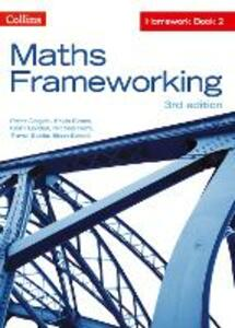 KS3 Maths Homework Book 2 - Peter Derych,Kevin Evans,Keith Gordon - cover