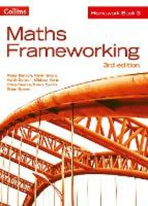 KS3 Maths Homework Book 3 - Peter Derych,Kevin Evans,Keith Gordon - cover