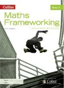 KS3 Maths Intervention Step 3 Workbook - Chris Pearce - cover