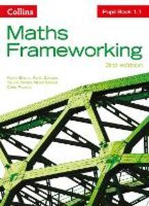 KS3 Maths Pupil Book 1.1 - Kevin Evans,Keith Gordon,Trevor Senior - cover