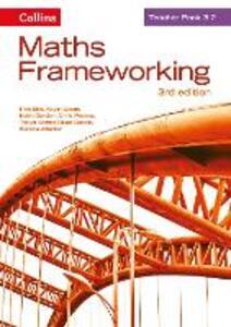 KS3 Maths Teacher Pack 3.2 - Rob Ellis,Kevin Evans,Keith Gordon - cover