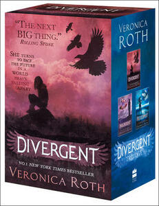 Divergent Series Boxed Set (books 1-3) - Veronica Roth - cover
