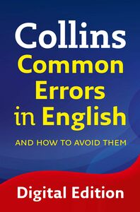Foto Cover di Collins Common Errors in English, Ebook inglese di Collins Dictionaries, edito da HarperCollins Publishers