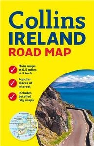 Ireland Road Map - Collins Maps - cover