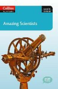 Amazing Scientists: B2 - cover