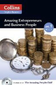 Amazing Entrepreneurs & Business People: A2 - cover