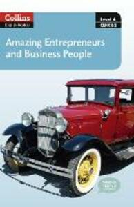 Amazing Entrepreneurs & Business People: B2 - cover