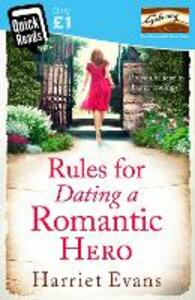 Rules for Dating a Romantic Hero - Harriet Evans - cover