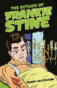 The Return of Frankie Stine - Barry Hutchison - cover