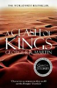 A Clash of Kings - George R. R. Martin - cover