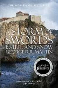 A Storm of Swords: Part 1 Steel and Snow - George R. R. Martin - cover