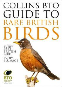 Collins BTO Guide to Rare British Birds - Paul Sterry,Paul Stancliffe - cover