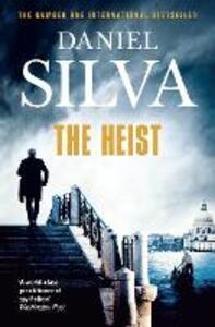 The Heist - Daniel Silva - cover