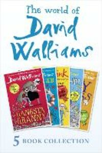 Ebook in inglese World of David Walliams 5 Book Collection (The Boy in the Dress, Mr Stink, Billionaire Boy, Gangsta Granny, Ratburger) Walliams, David