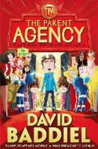 The Parent Agency - David Baddiel - cover