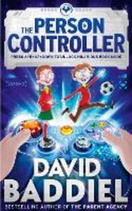 The Person Controller - David Baddiel - cover
