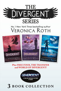 Ebook in inglese Divergent Series (Books 1-3) Plus Free Four, The Transfer and World of Divergent Roth, Veronica