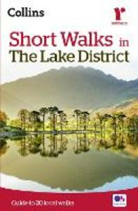 Short walks in the Lake District - Collins Maps - cover