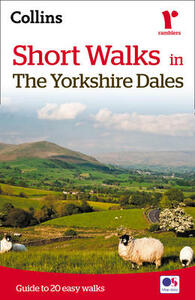 Short walks in the Yorkshire Dales - Collins Maps - cover
