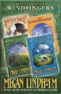 Foto Cover di Windsingers Series: The Complete 4-Book Collection (The Ki and Vandien Quartet), Ebook inglese di Megan Lindholm, edito da HarperCollins Publishers
