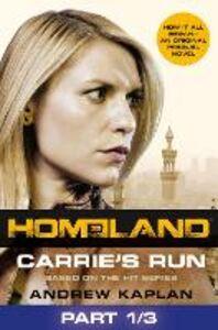Ebook in inglese Carrie's Run, Part 1 of 3 Kaplan, Andrew