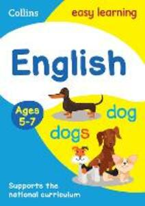 English Ages 5-7 - Collins Easy Learning - cover