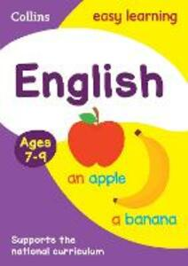 English Ages 7-9 - Collins Easy Learning - cover