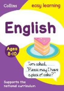 English Ages 8-10 - Collins Easy Learning - cover