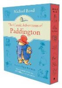 The Classic Adventures of Paddington - Michael Bond - cover
