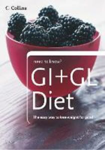 Ebook in inglese GI + GL Diet (Collins Need to Know?) -, -