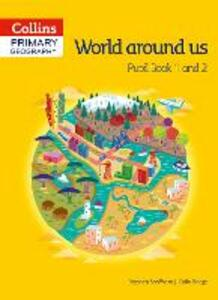 Collins Primary Geography Pupil Book 1 & 2 - Stephen Scoffham,Colin Bridge - cover