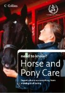 Ebook in inglese Horse and Pony Care (Collins Need to Know?) The British Horse Society