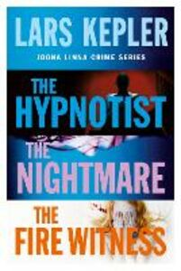 Ebook in inglese Joona Linna Crime Series Books 1-3: The Hypnotist, The Nightmare, The Fire Witness Kepler, Lars