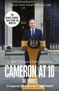 Cameron at 10: The Verdict - Anthony Seldon,Peter Snowdon - cover