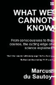 Ebook in inglese What We Cannot Know Du Sautoy, Marcus