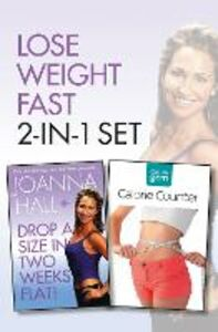 Foto Cover di Drop a Size in Two Weeks Flat! plus Collins GEM Calorie Counter Set, Ebook inglese di Joanna Hall, edito da HarperCollins Publishers