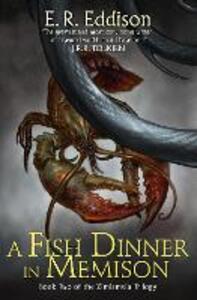 A Fish Dinner in Memison - E. R. Eddison - cover