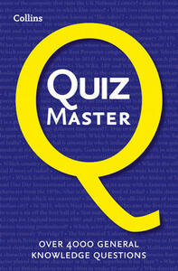 Collins Quiz Master - Collins - cover