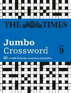 The Times 2 Jumbo Crossword Book 9: 60 World-Famous Crossword Puzzles from the Times2 - cover