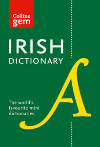 Collins Irish Gem Dictionary: The World's Favourite Mini Dictionary - Collins Dictionaries - cover