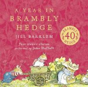 A Year in Brambly Hedge - Jill Barklem - cover