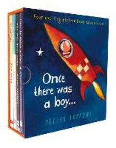 Once there was a boy...: Boxed Set - Oliver Jeffers - cover