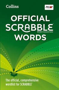 Collins Official Scrabble Words: The Official, Comprehensive Wordlist for Scrabble (TM) - Collins Dictionaries - cover
