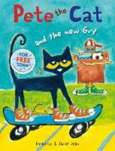 Pete the Cat and the New Guy - Kimberly Dean - cover